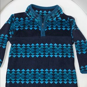 OshKosh B'hosh multi colored blues jacket size 9M